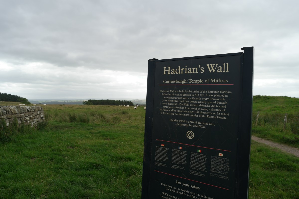 Why Hadrian's Wall was one of our England faves for family travel